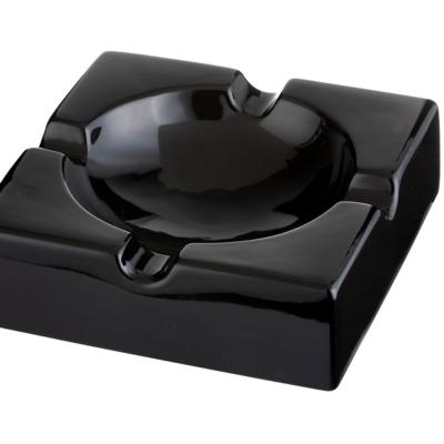 Cigar Ashtray Ceramic Black